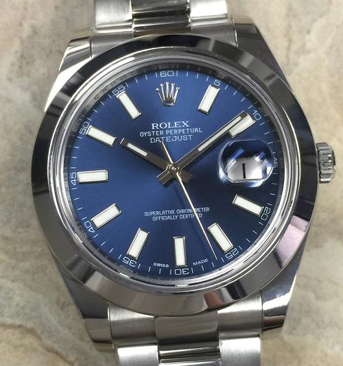 Rolex Datejust 2 Blue Dial