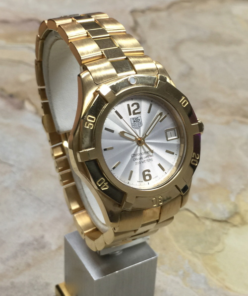 Tag Heuer 18K Yellow Gold 2000 Exclusive Automatic ...