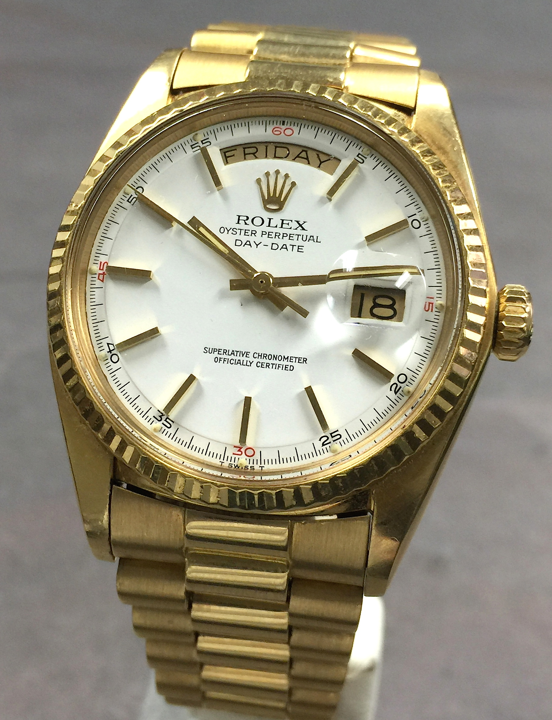 date day start rolex watches slideshow gold products yellow papers president slideshowstop presidential box