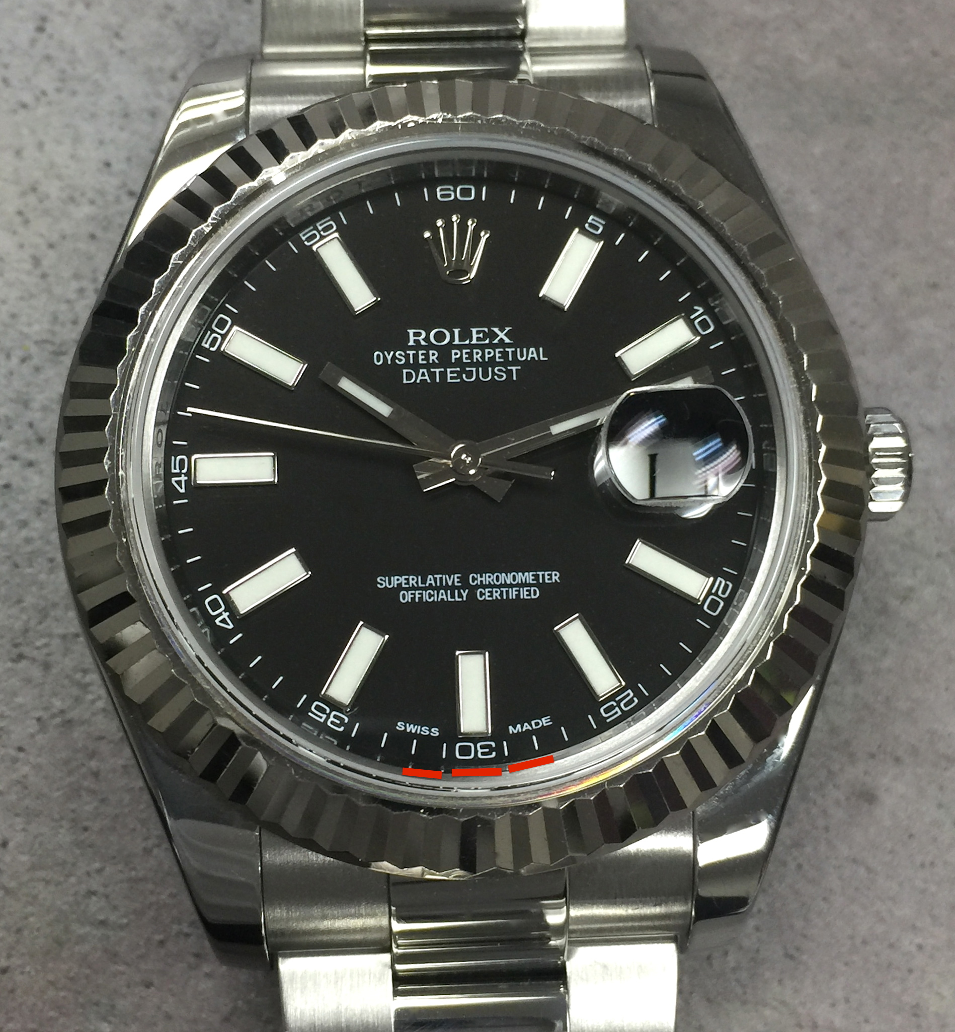 Rolex Datejust 41 Black Face