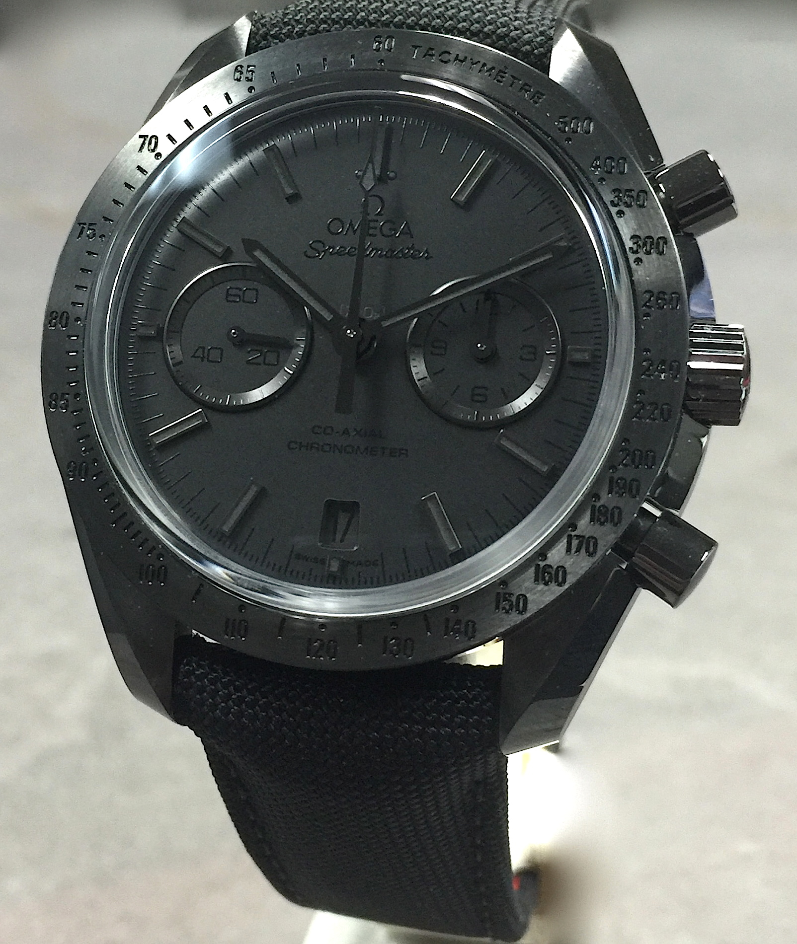 Omega Speedmaster Dark Side Of The Moon Black Black 311