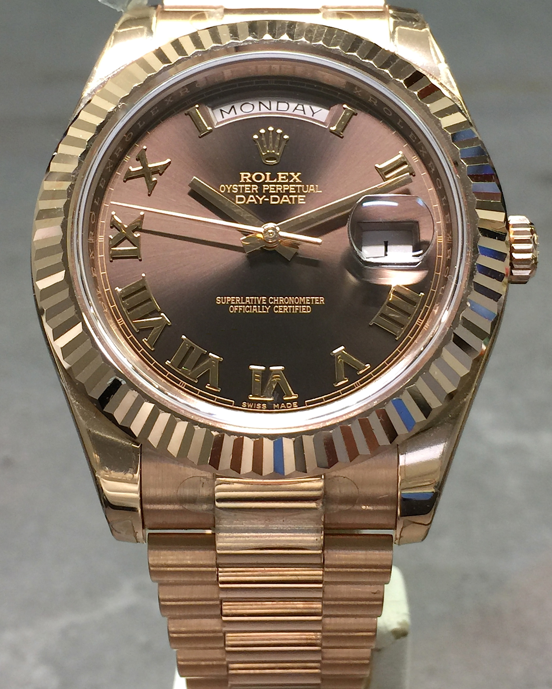 Rolex gold presidential