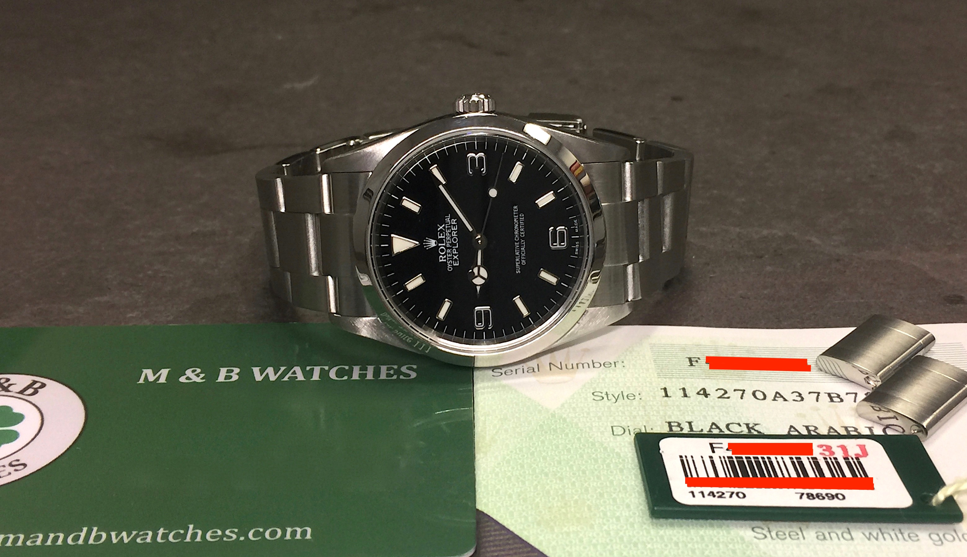 steel stainless lancashire of explorer rolex ii watches